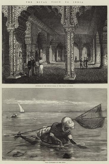 The Royal Visit to India-Thomas W. Wood-Giclee Print