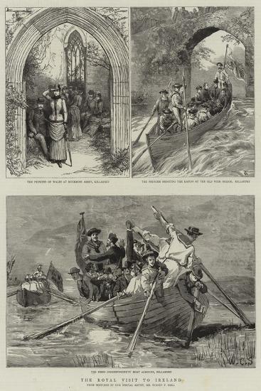 The Royal Visit to Ireland-Sydney Prior Hall-Giclee Print
