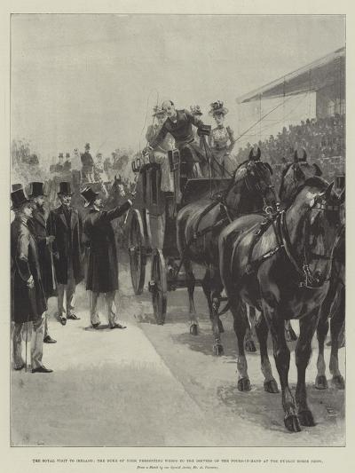 The Royal Visit to Ireland-William Heysham Overend-Giclee Print