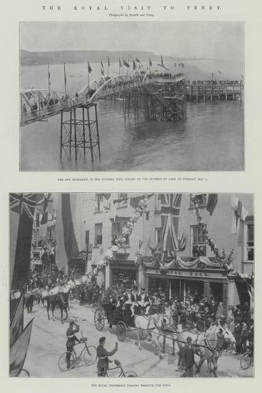The Royal Visit to Tenby--Giclee Print