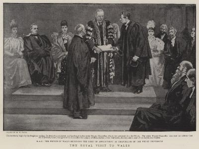 The Royal Visit to Wales-Henry Marriott Paget-Giclee Print