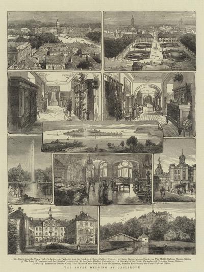 The Royal Wedding at Carlsruhe- Warry-Giclee Print