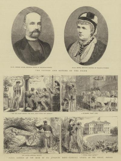 The Royal Wedding at Windsor--Giclee Print