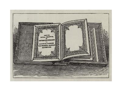 The Royal Wedding Presents--Giclee Print