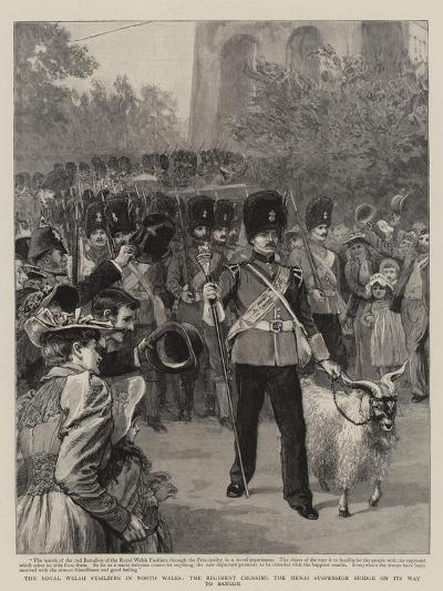 The Royal Welsh Fusiliers in North Wales--Giclee Print