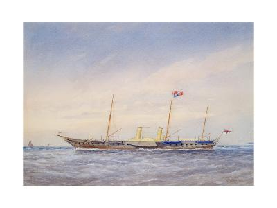 The Royal Yacht Osbourne, 1876-William Frederick Mitchell-Giclee Print