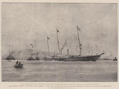 The Royal Yacht Victoria and Albert-William Lionel Wyllie-Giclee Print