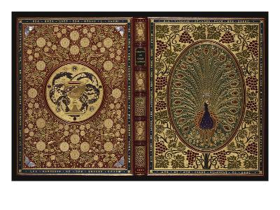 The Rubaiyat of Omar Khayyam.  a Magnificent Jewelled 'Peacock' Binding with 34 Stones and 408…--Giclee Print