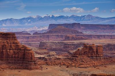 The Rugged Canyons of Canyonlands National Park Seen from the White Rim Trail Near Moab, Utah-Sergio Ballivian-Photographic Print