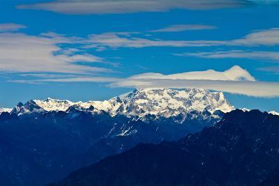 The Rugged Snow and Ice Covered Peak of Mount Kula Kangri, the Highest Mountain in Bhutan-Jason Edwards-Photographic Print