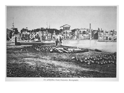 The Ruined City of Richmond, Virginia, at the War's End-American Photographer-Giclee Print
