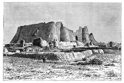 The Ruined Fortress of Veramin, Persia (Ira), 1895-Armand Kohl-Giclee Print