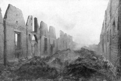 The Ruins of Albert, Somme, France, 23 September 1914--Giclee Print