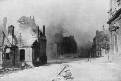 The Ruins of Cambrai, France, First World War, 1918--Giclee Print