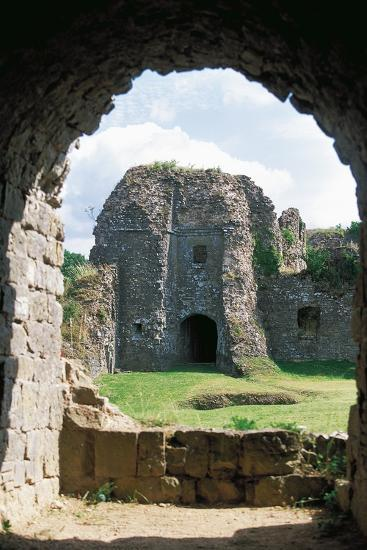 The Ruins of Chateau of Montcornet, Champagne-Ardenne, France--Photographic Print