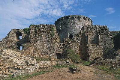 The Ruins of Chateau of Tonquedec, Originally from 12th Century, Brittany, France--Photographic Print