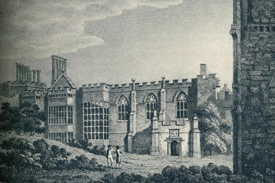 'The Ruins of Cowdray House, near Midhurst, Sussex', 1907-Unknown-Giclee Print