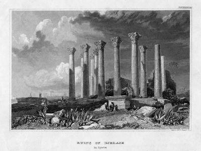 The Ruins of Djerash, Syria, 19th Century- Gest-Giclee Print