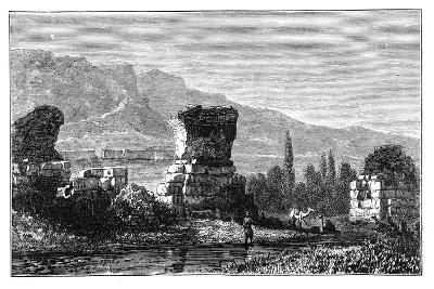 The Ruins of Sardis, Lydia, Turkey, C1890--Giclee Print