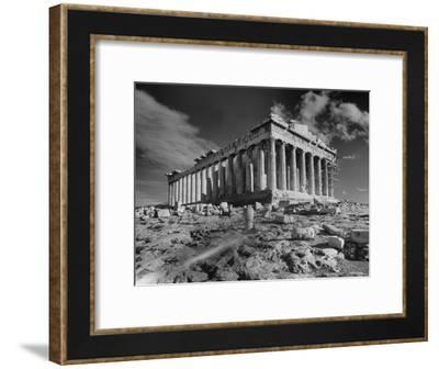 The Ruins of the Ancient Parthenon--Framed Photographic Print
