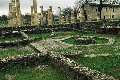 The Ruins of the Basilica and the Macellum--Giclee Print