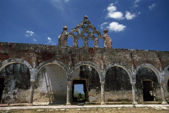 The Ruins of the Once Elegant Hacienda Mucuyche-Macduff Everton-Photographic Print