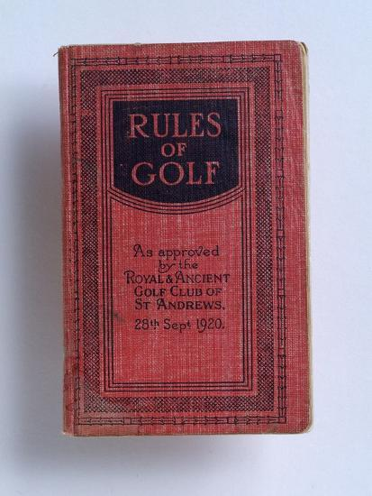 The Rules of Golf, 1920-Unknown-Giclee Print