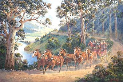 The Run Home-John Bradley-Giclee Print