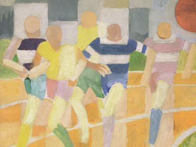 The Runners, c.1924-Robert Delaunay-Giclee Print