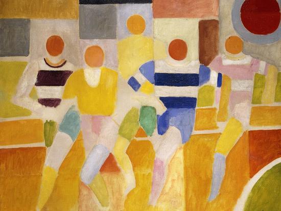 The Runners-Robert Delaunay-Premium Giclee Print