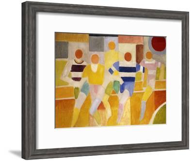 The Runners-Robert Delaunay-Framed Giclee Print