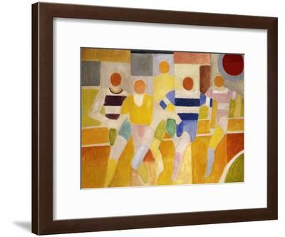 The Runners-Robert Delaunay-Framed Giclee Print