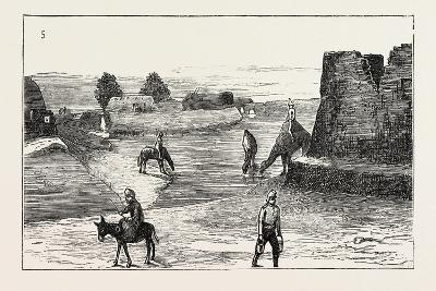 The Russian Expedition to Khiva: the Fort Karak Ata, 1873--Giclee Print