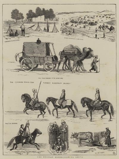 The Russian Expedition to Khiva-Alfred Chantrey Corbould-Giclee Print
