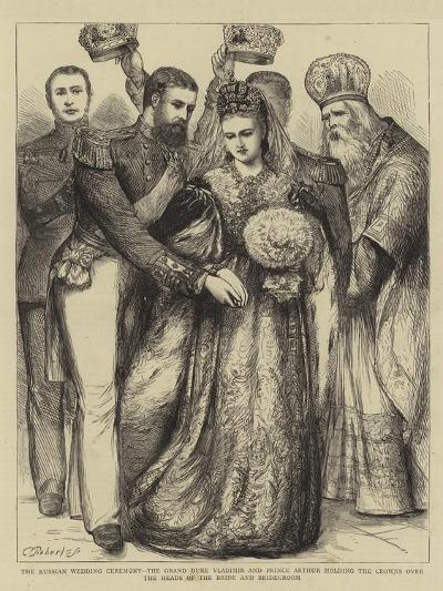 The Russian Wedding Ceremony--Giclee Print