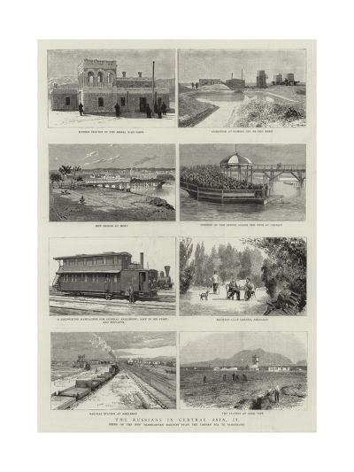 The Russians in Central Asia, II--Giclee Print
