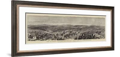 The Russians Leaving San Stefano, Last Look at Constantinople-Frederic Villiers-Framed Giclee Print