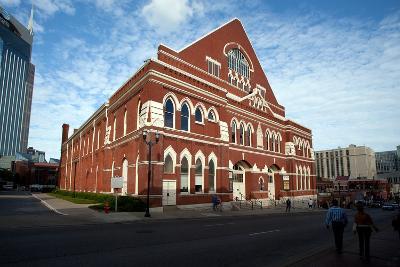 The Ryman Auditorium in Nashville Tennessee--Photographic Print
