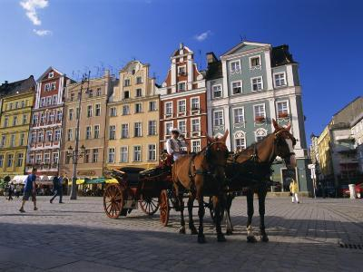 The Rynek (Town Square), Wroclaw, Silesia, Poland, Europe-Gavin Hellier-Photographic Print