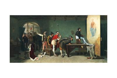 The Sack of Rome-Teofilo Patini-Giclee Print