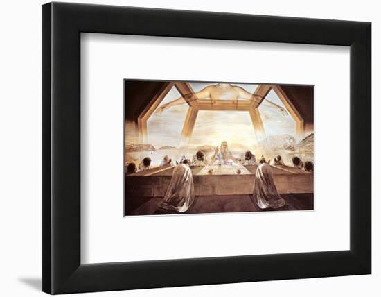 The Sacrament of the Last Supper, c.1955-Salvador Dalí-Framed Art Print