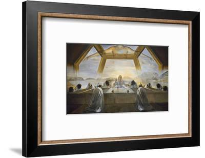 The Sacrament of the Last Supper-Salvador Dali-Framed Art Print