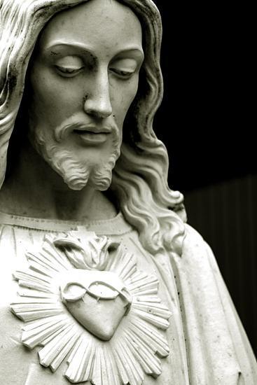 The Sacred Heart of Jesus, 19th Century--Photographic Print