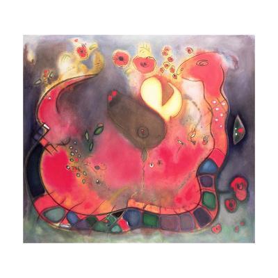 The Sacred Snake, 1994-Jane Deakin-Giclee Print