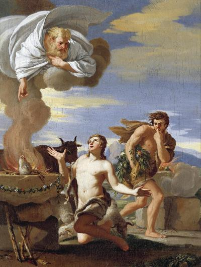 The Sacrifice of Abel, 1634-Charles Mellin-Giclee Print