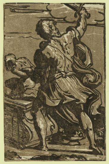 The Sacrifice of Abraham, Between Ca. 1520 and 1700-Parmigianino-Giclee Print