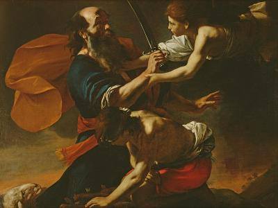 The Sacrifice of Isaac, 1613-Mattia Preti-Giclee Print