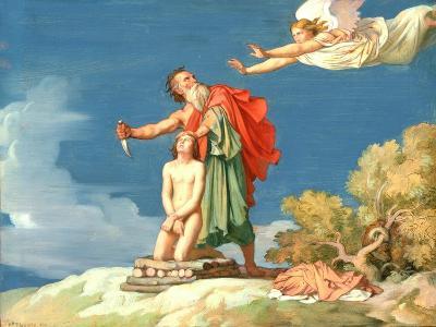 The Sacrifice of Isaac, 1860-Hippolyte Flandrin-Giclee Print