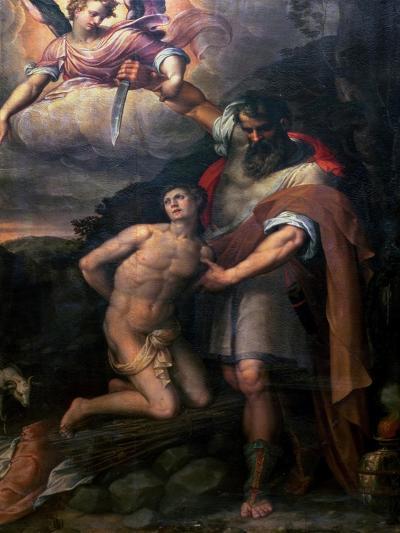 The Sacrifice of Isaac-Stefano Pieri-Giclee Print