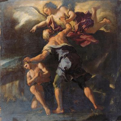 The Sacrifice of Isaac-Paolo Di Matteis-Giclee Print